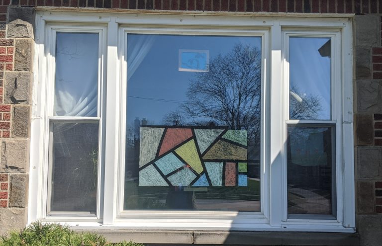 "How To Create a ""Stained Glass"" Window"