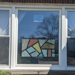 """How To Create a """"Stained Glass"""" Window"""