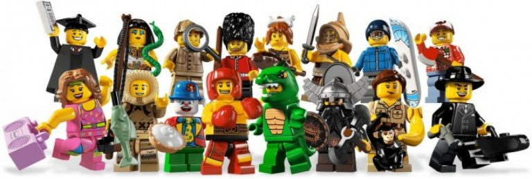 Get Creative with LEGO® Minifigures!