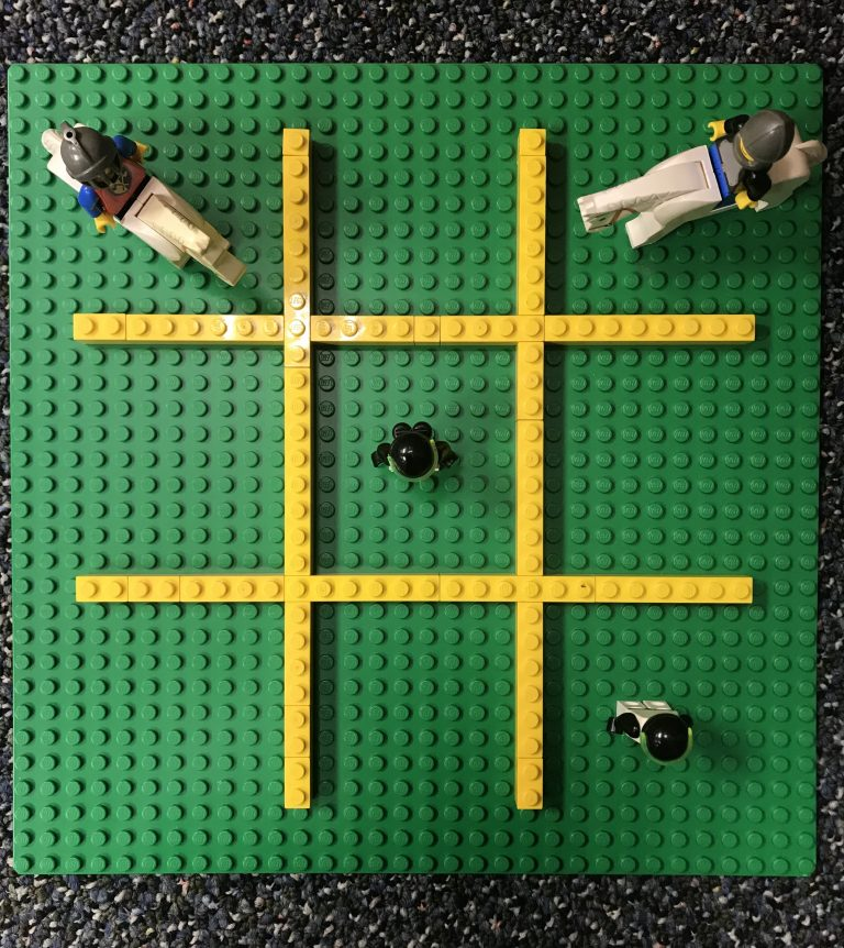 Tic-Tac-Toe with LEGO® Bricks