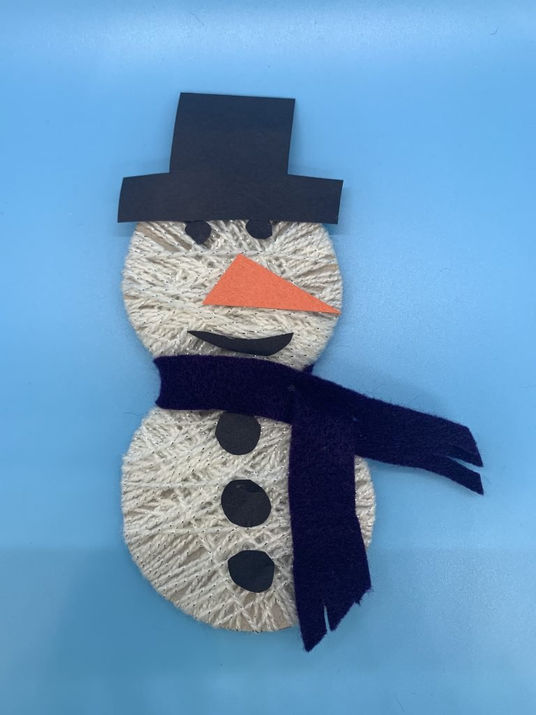 Read more about the article Read It Make It:  Snowman Craft