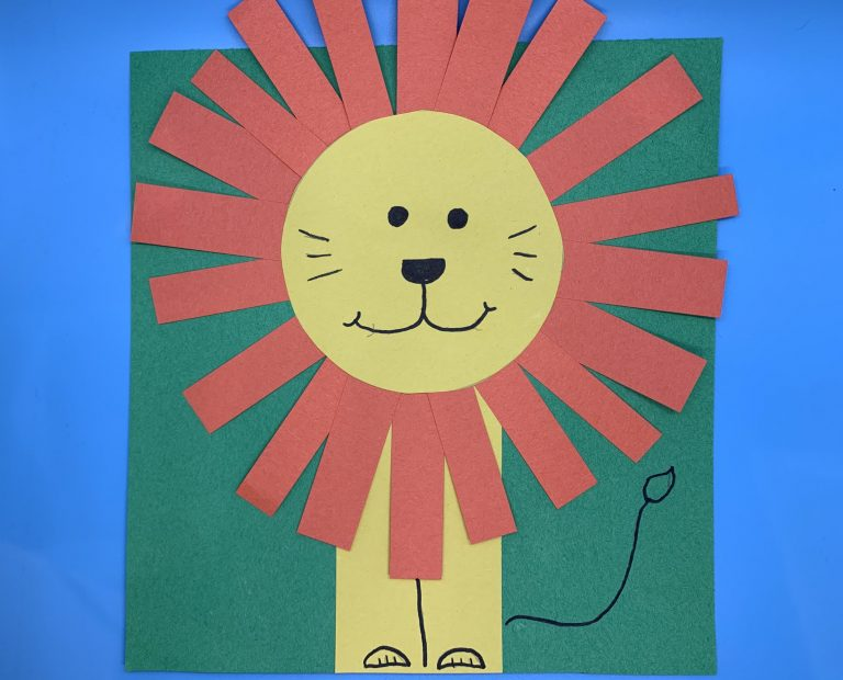 Read It Make It: Lion Craft