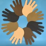Read It Make It : Unity Handprint Wreath