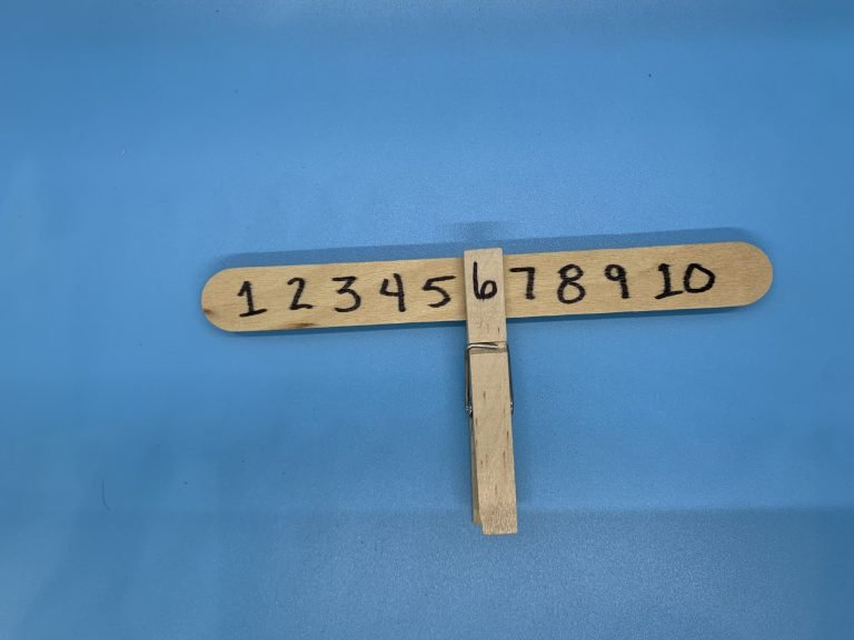 Free Play Activities: Number Recognition
