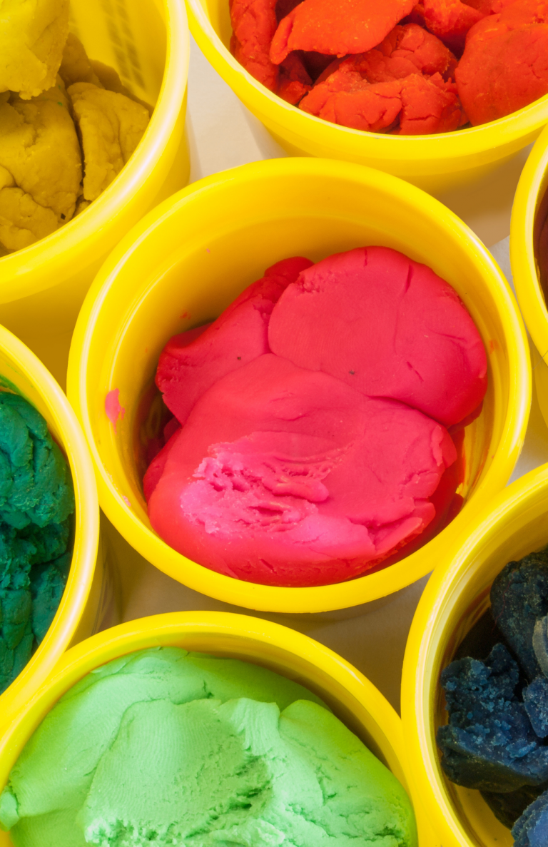 Free Play Activities: Homemade Play-Dough and Printable Play-Dough Scenes