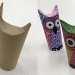 Read It, Make It – Paper Tube Owl Puppet