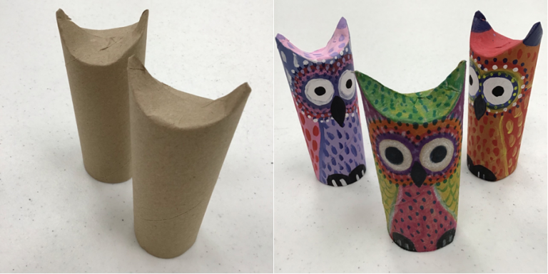 Read more about the article Read It, Make It – Paper Tube Owl Puppet